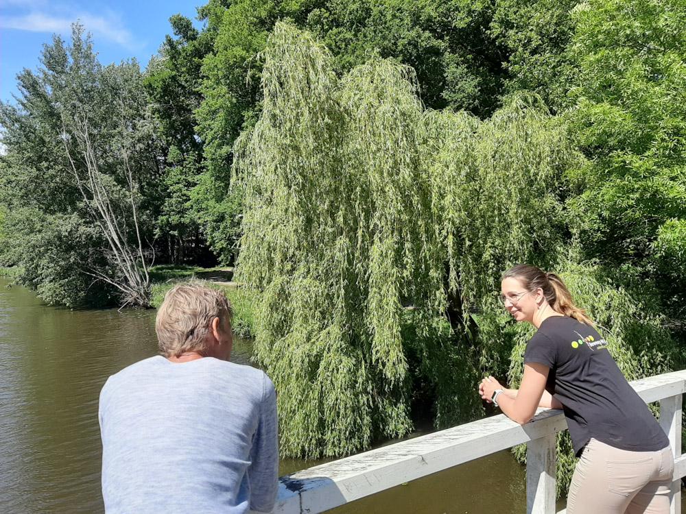 Lopen is gezond omgeving Breda