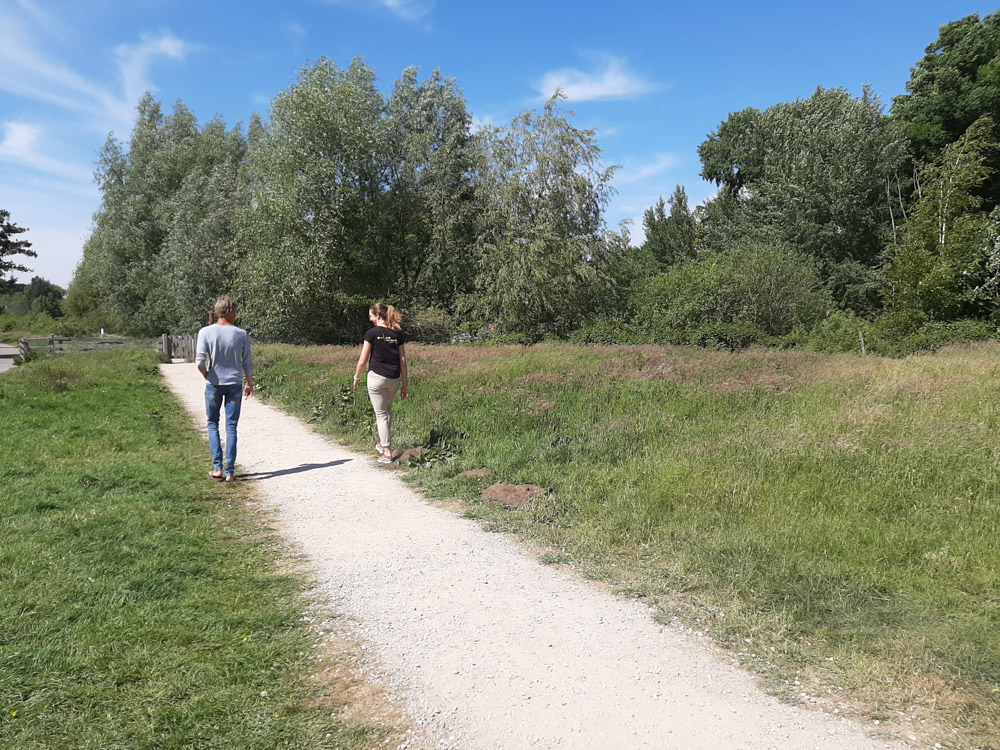 Meer lopen omgeving Breda